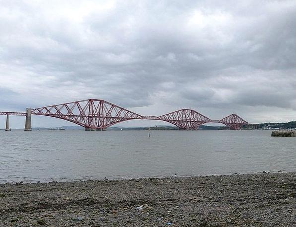 Forth Road Bridge Water Aquatic Scotland Bridge Bo