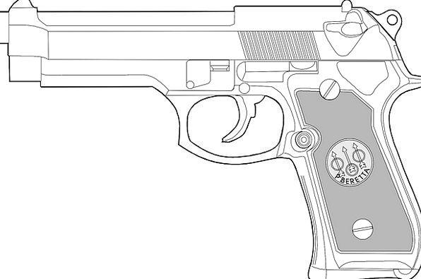 Handgun Gun Revolver Pistol Weapon Armament Glock