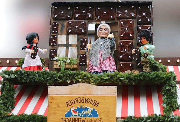 Hansel And Gretel Toys The Witch Dolls Christmas B