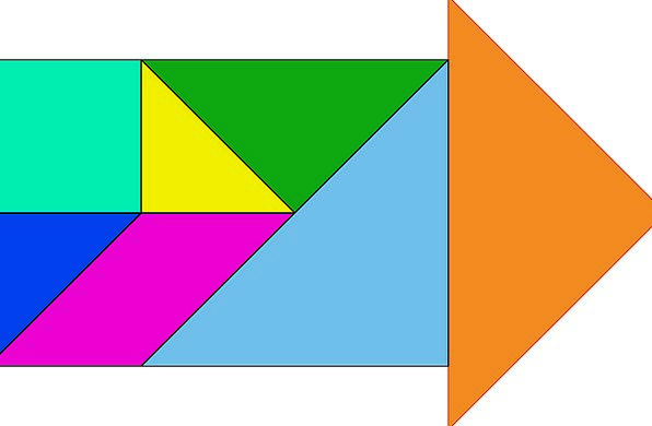 Shapes Forms Missile Triangle Threesome Arrow Chin