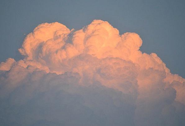 Severe Plain Tempest Clouds Vapors Storm Texas Sto