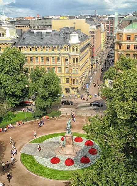 Helsinki Buildings Architecture Plaza Piazza Finla