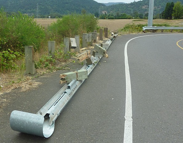 Crash Barrier Traffic Handrail Transportation Guar