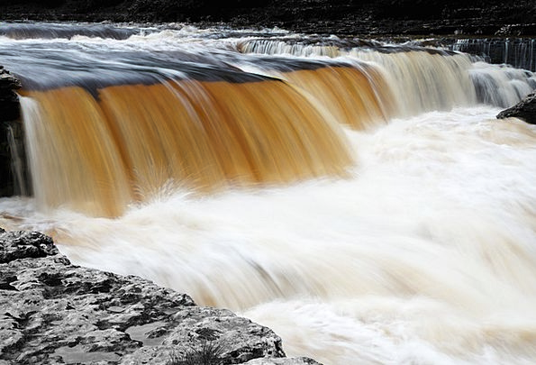 Cascade Waterfall Landscapes Movement Nature Flowi