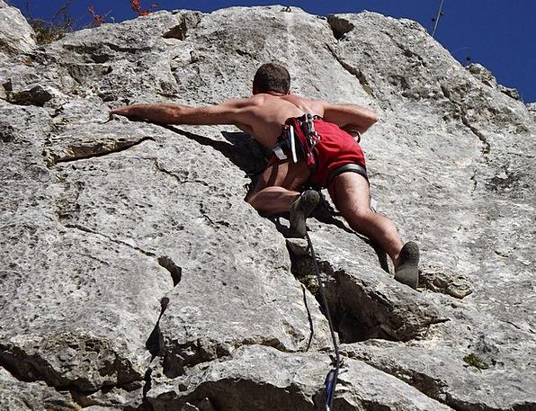 Climbing Uphill Man Gentleman Alpinism Mountain Cr