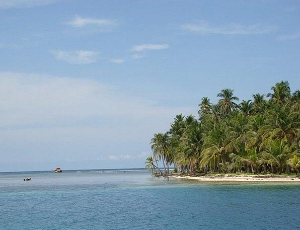 Panama Cap Landscapes Nature Archipelago Central A