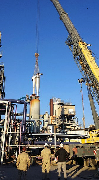 Oil Rig Craft Manufacturing Industry Refinery Plan