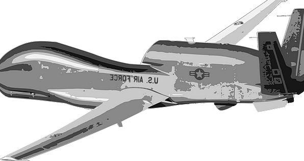 Drone Buzz Uav Global Hawk Airplane Military Aircr