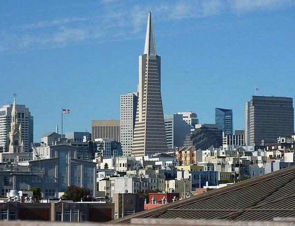 San Francisco Buildings Architecture Usa Californi