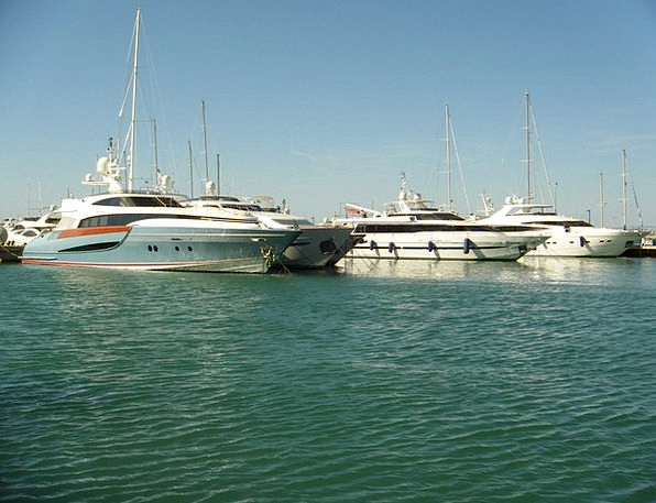 Yachts Ships Marine Majorca Sea Cove Spain Sailboa