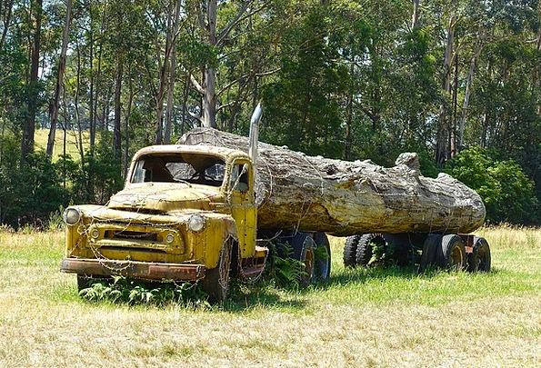 Log Truck Traffic Crash Transportation Logging Cla