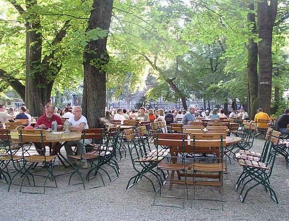 Beer Garden Drink Eatery Food Munich Restaurant Ch