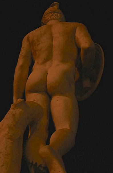 Sculpture Statue Old Ancient Sand Stone Art Painti
