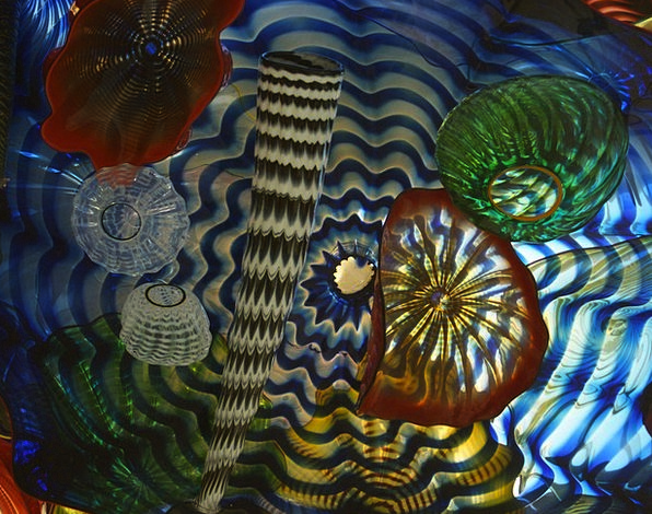 Glass Cut-glass Painting Tacoma Art Washington Lig
