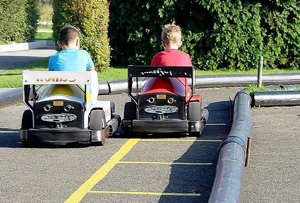 Go-Karts Kart Bumper Cars Switzerland Theme Park F