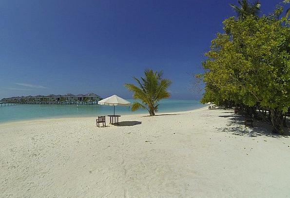 Maldives Vacation Seashore Travel Idyll Nirvana Be