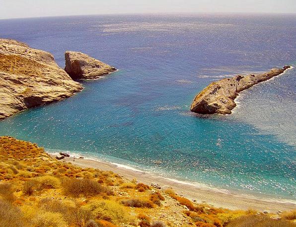 Folegandros Isle Sea Marine Island