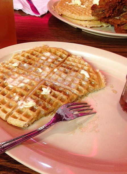 Waffles Nonsenses Drink Nourishment Food Roscoes F