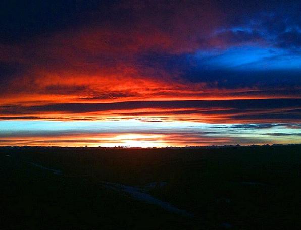 Sunset Sundown Vacation Travel Silhouette Outline