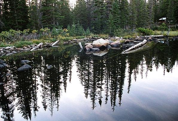 Reflection Likeness Landscapes Scenery Nature Lake
