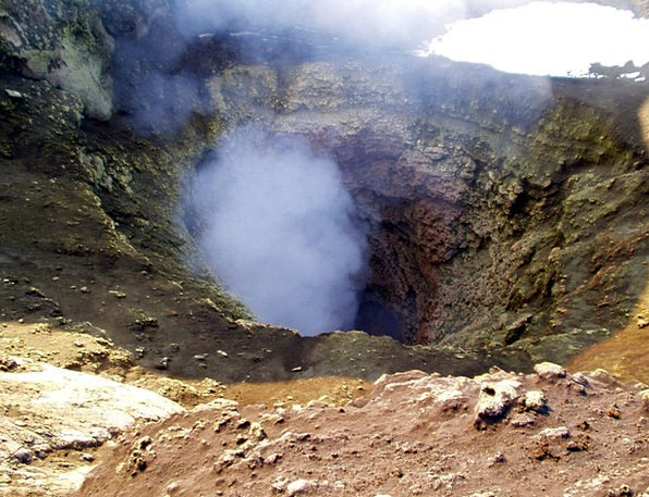Volcano Hollow Volcanism Crater Hot Warm Villa Ric