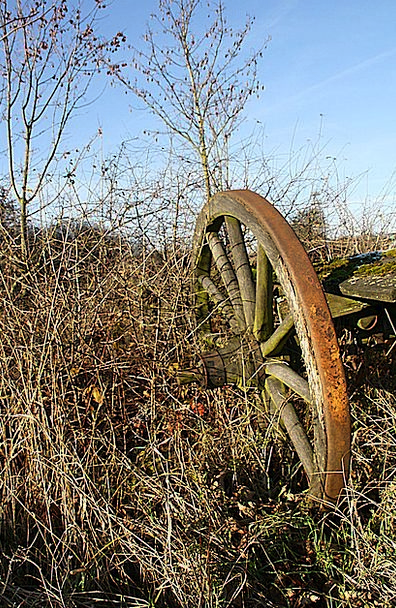 Wagon Wheel Helm Old Ancient Wheel Tost Wooden Whe