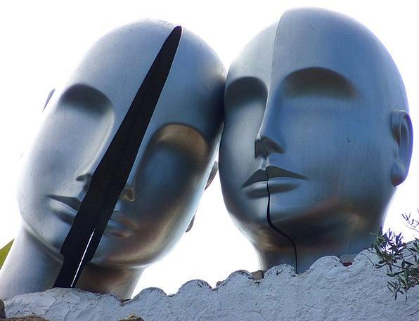 Head Skull Skulls Dalí Heads Museum Gallery Portll