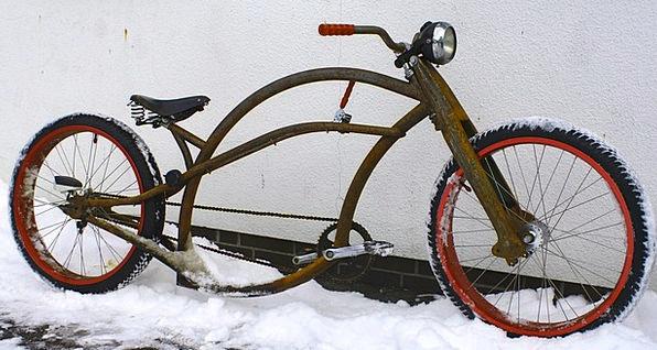 Bike Motorbike Chopper Grinder Oldtimer Cruiser Ve