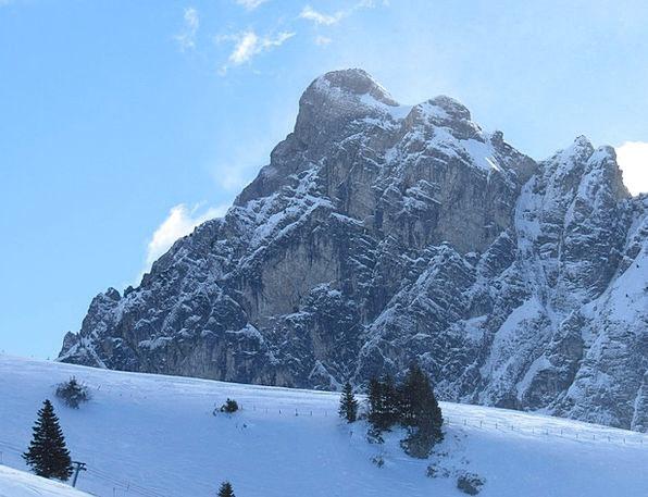 Mountain Crag Landscapes Snowflake Nature Aggenste