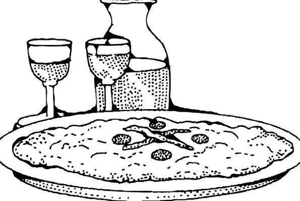 Pizza Drink Nourishment Food Italian Food Baked Wi