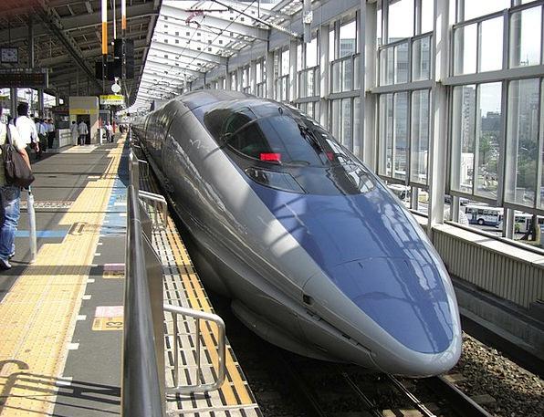 Bullet Train Pullman Nozomi Train Japan Train Stat