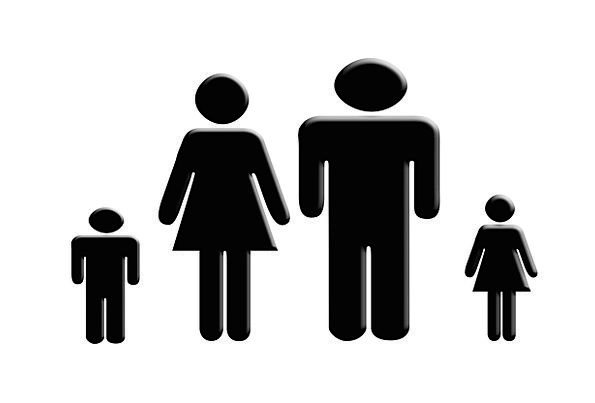 Family Domestic Ciphers Symbol Sign Symbols Child Dad Father