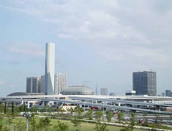 Odaiba Buildings Architecture Tokyo Japan City Urb