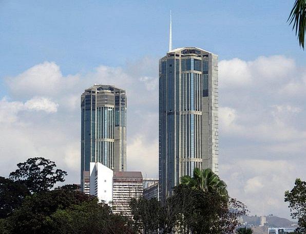 Parque Buildings Dominant Architecture Caracas Cen