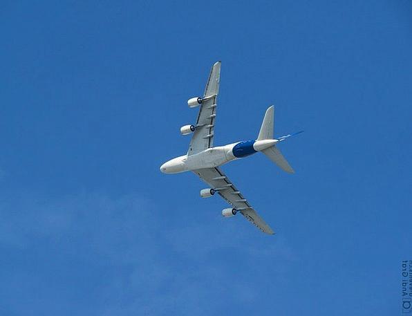 Passenger Aircraft Airbus Flugshow A380