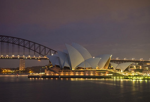 Sydney Opera House Sydney Harbour Bridge Australia