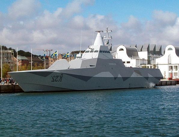 Corvette Stealth Furtiveness Ship Vessel Warship D