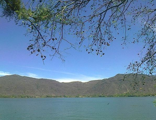 Laguna Crags Sky Blue Mountains Water Aquatic Mexi
