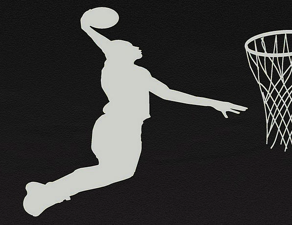 Basketball Willing Silhouettes Outlines Game Sport