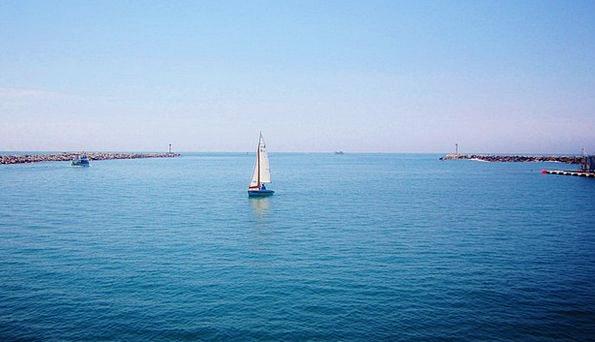 Boat Ship Vacation Azure Travel Boats Ships Blue C