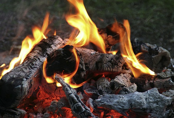 Campfire Passion Flame Blaze Fire Heat Warmth Burn