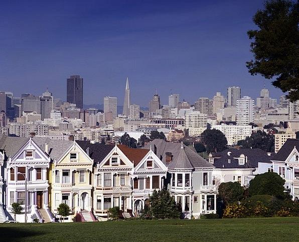 San Francisco Buildings Horizon Architecture House