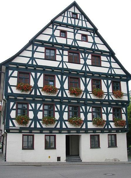Fachwerkhaus Buildings Factually Architecture Trus
