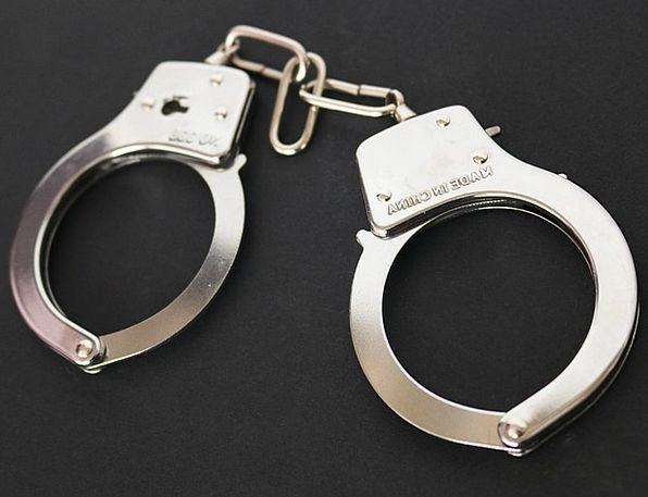 Handcuffs Manacles Prison Custodial Chains Metal F