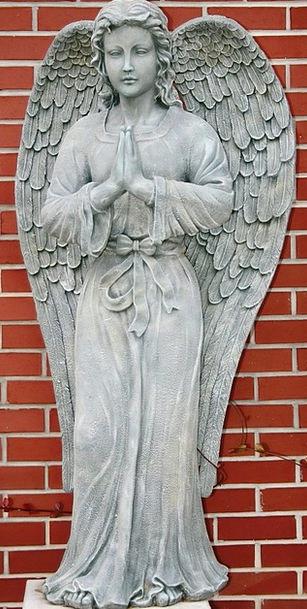 Statue Figurine Seraph Cherub Angel Christianity S
