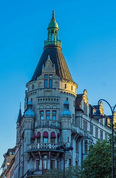 Stockholm Buildings Architecture Scandinavia Swede