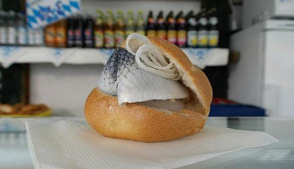 Herring Drink Food Fish Bread Herring Bread Eat Fi