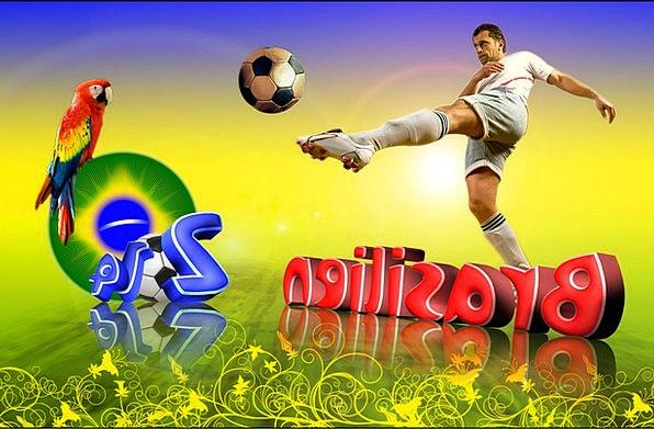 Football World Cup 2014 Brazil Football Match Worl