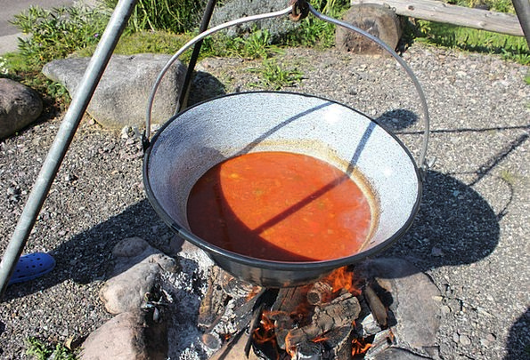 Goulash Soup Hearth Fire Passion Fireplace Embers