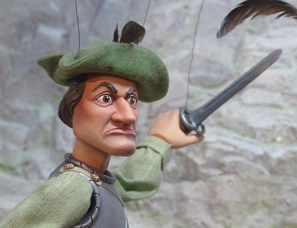 Puppet Marionette Gentleman Fighter Combatant Man